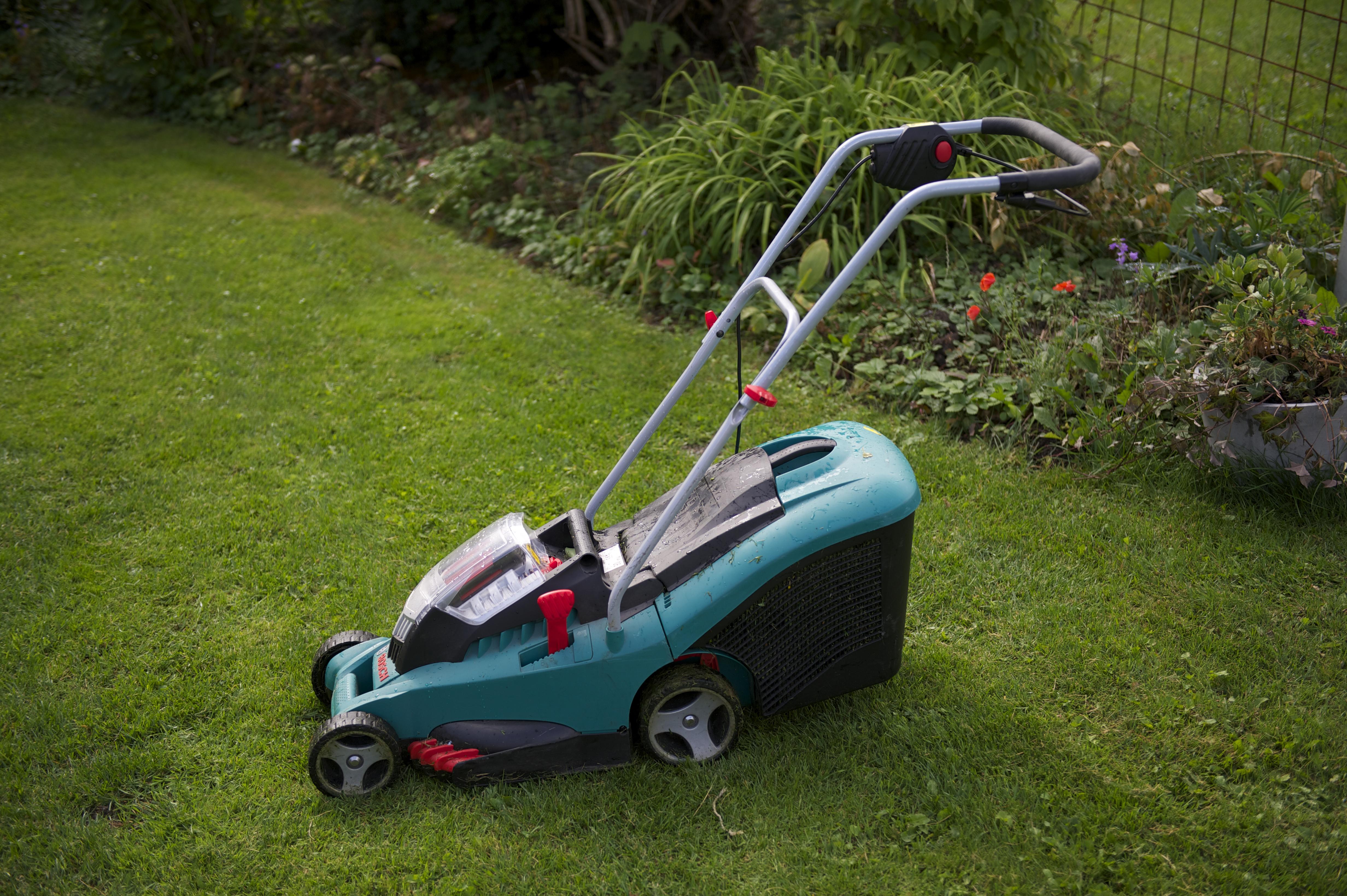 Batteri gräsklippare bosch