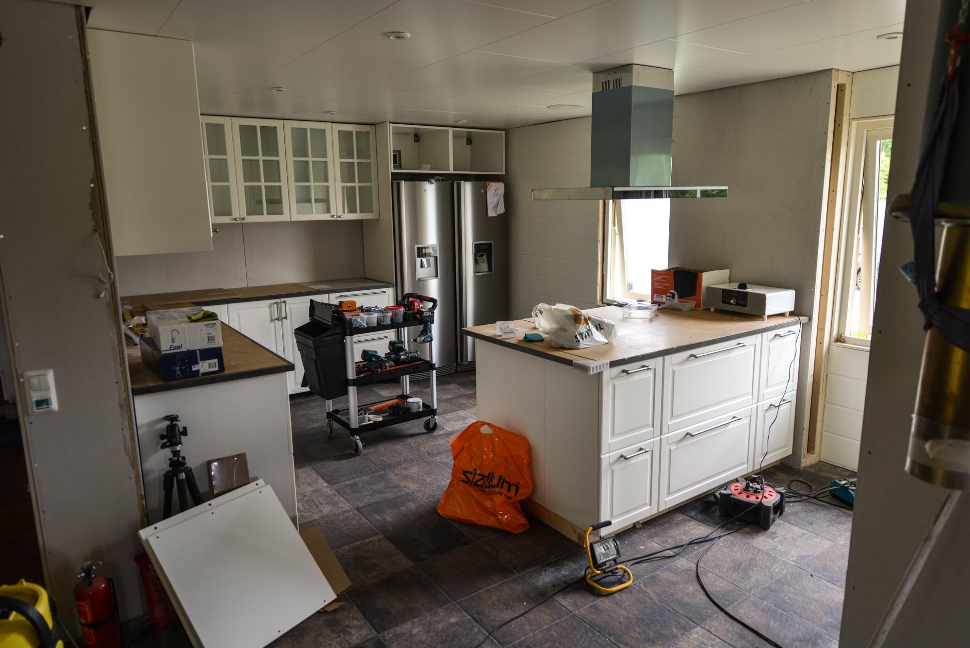 Vår köksrenovering, steg för steg